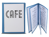 Menu Covers, Cafe Covers